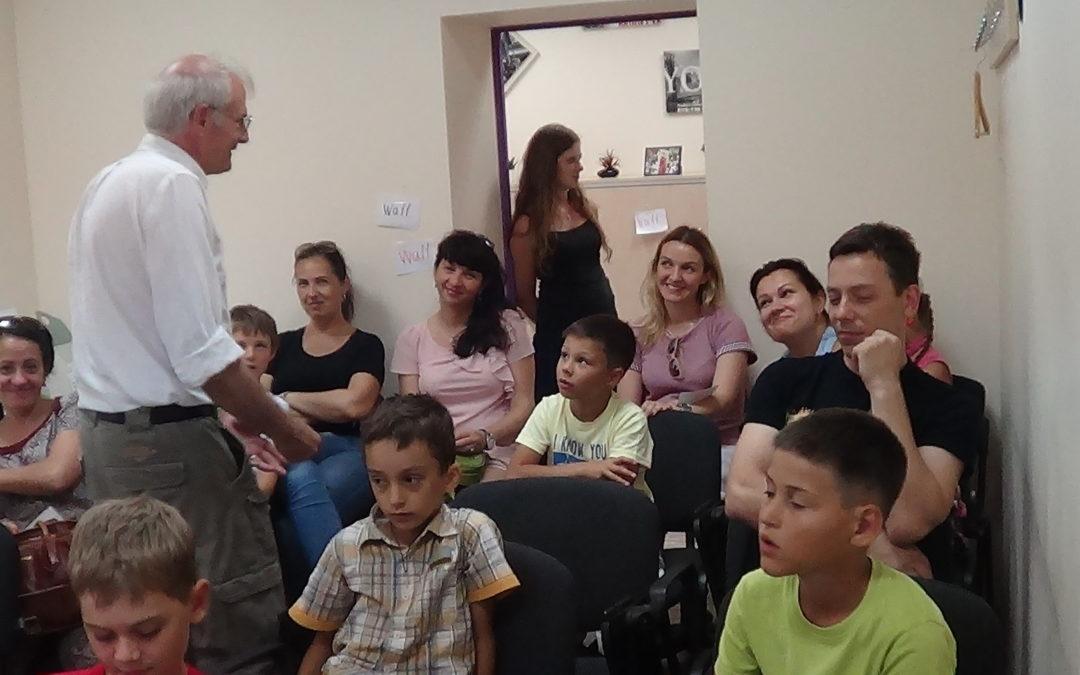 Мастер-класс для родителей и детей от Джона Кэмпбэлла