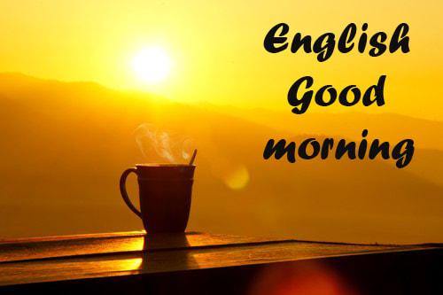 English Good morning
