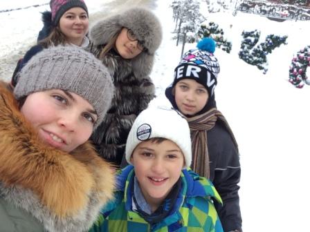 Английский зимний лагерь в Харькове
