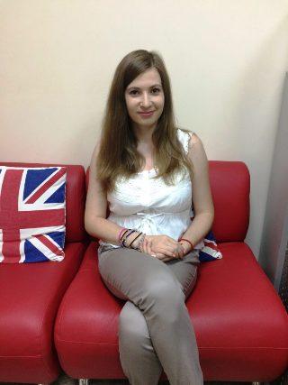 Преподаватель Domar Academy Анастасия Лебеденко
